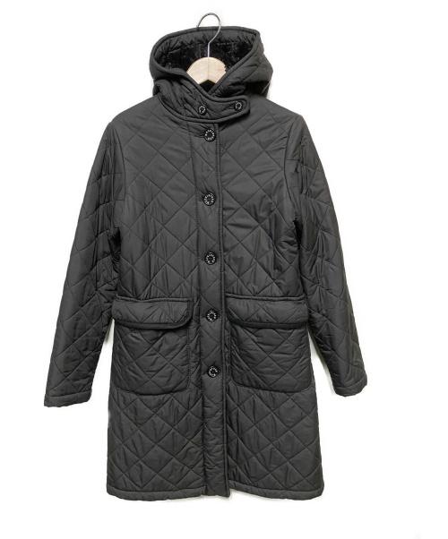 MACKINTOSH PHILOSOPHY(マッキントッシュフィロソフィー)MACKINTOSH PHILOSOPHY (マッキントッシュフィロソフィー) キルティングコート ブラック サイズ:34の古着・服飾アイテム