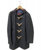 COMME des GARCONS HOMME(コムデギャルソンオム)の古着「ダッフルコート」|ブラック