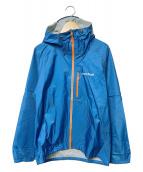mont-bell(モンベル)の古着「コンバーチブルレインジャケット」|ブルー