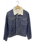 MAISON KITSUNE(メゾンキツネ)の古着「裏ボアデニムジャケット」|ネイビー