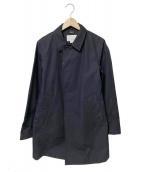 nanamica(ナナミカ)の古着「ステンカラーコート」|ブラック