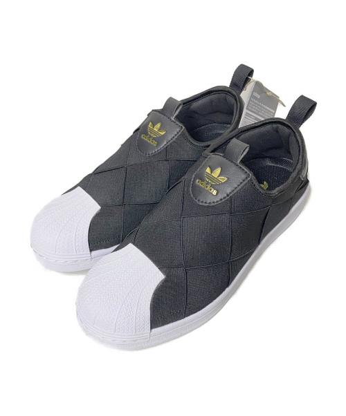 adidas(アディダス)adidas (アディダス) スニーカー ブラック サイズ:24 未使用品 FV3187の古着・服飾アイテム