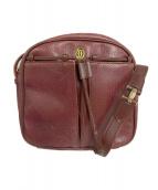 Cartier(カルティエ)の古着「ヴィンテージショルダーバッグ」|レッド