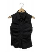 ()の古着「ノースリーブシャツ」|ブラック