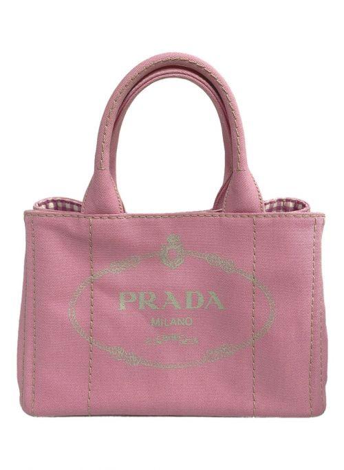 PRADA(プラダ)PRADA (プラダ) 2WAYバッグ ピンクの古着・服飾アイテム