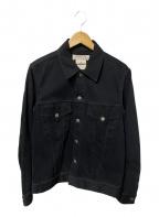REMI RELIEF(レミレリーフ)の古着「カバーオール」|ブラック