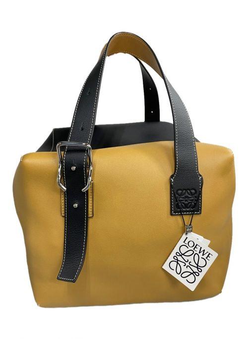 LOEWE(ロエベ)LOEWE (ロエベ) ハンドバッグ ブラック×オレンジ 未使用品の古着・服飾アイテム