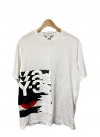 Y-3(ワイスリー)の古着「GFXショートスリーブTシャツ」|ホワイト