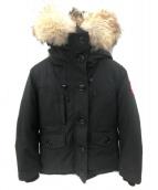 CANADA GOOSE(カナダグース)の古着「シャーロットパーカ」|ブラック