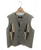 CENTINELA(センチネラ)の古着「チマヨベスト」|グレー