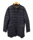 MOORER(ムーレー)の古着「ダウンキルティングジャケット」|ネイビー