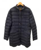 MOORER(ムーレー)の古着「ダウンキルティングジャケット」 ネイビー