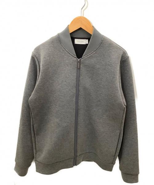Calvin Klein PLATINUM(カルバン・クライン プラティナム)Calvin Klein PLATINUM (カルバン・クライン プラティナム) ブルゾン グレー サイズ:Mの古着・服飾アイテム
