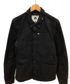 Denham(デンハム)の古着「デニムジャケット」|ブラック