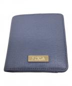 FURLA(フルラ)の古着「2つ折り財布」 ブルー