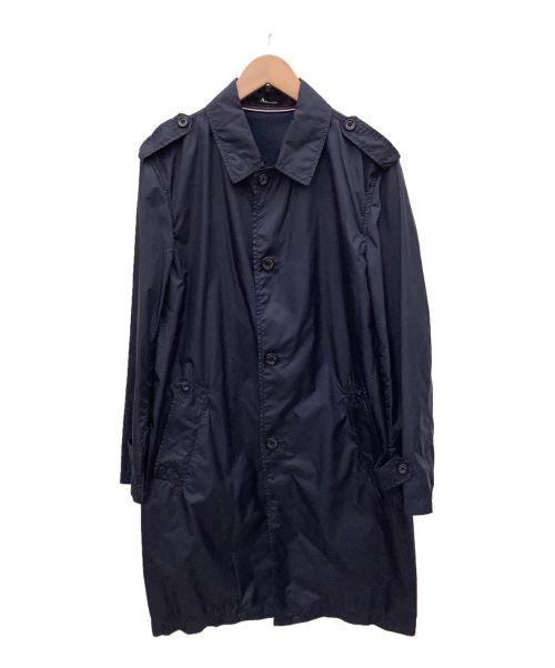 Aquascutum(アクアスキュータム)Aquascutum (アクアスキュータム) レインコート ネイビー サイズ:36の古着・服飾アイテム