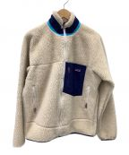 Patagonia(パタゴニア)の古着「クラシックレトロジャケット フリースジャケット」 ベージュ