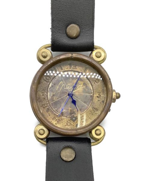 渡辺工房(ワタナベコウボウ)渡辺工房 (ワタナベコウボウ) ハンドメイド腕時計 未使用品 クォーツ レザーの古着・服飾アイテム