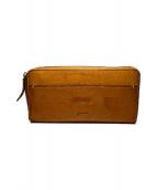 genten(ゲンテン)の古着「ラウンドファスナー長財布」|ブラウン