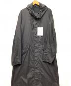 DESCENTE PAUSE(デサントポーズ)の古着「ナイロンコート」 ブラック