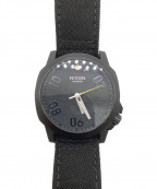 NIXON(ニクソン)の古着「腕時計」|ブラック