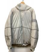le coq sportif(ルコック・スポルティフ)の古着「フーディーダウンジャケット」|グレー