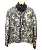 VICTORINOX(ビクトリノックス)の古着「中綿ジャケット」 グリーンカモフラ