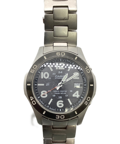 CASIO(カシオ)CASIO (カシオ) 腕時計 0VW-110 ソーラー充電 ステンレススチールの古着・服飾アイテム
