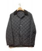 Traditional Weatherwear(トラディショナルウェザーウェア)の古着「キルティングナイロンジャケット」|ブラック