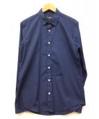 BLACK LABEL CRESTBRIDGE(ブラックレーベルクレストブリッジ)の古着「シャツ」 ネイビー