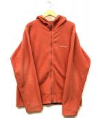 mont-bell(モンベル)の古着「フリースジャケット」|レッドブラウン