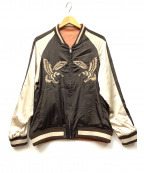 Varde77(バルデセブンティセブン)の古着「スカジャン」 グレー