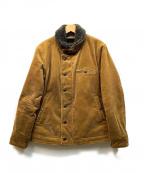 Varde77(バルデセブンティセブン)の古着「コーデュロイジャケット」 オリーブ