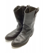 RED WING(レッドウィング)の古着「Pecos Boot」|ブラック