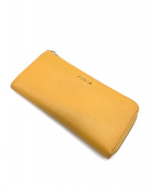 FURLA(フルラ)の古着「長財布」|イエロー