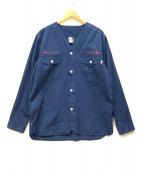 CHUMS(チャムス)の古着「スカウトキャンプシャツ」|ネイビー