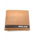 POLICE(ポリス)の古着「2つ折り財布」|ブラウン