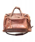 KITAMURA(キタムラ)の古着「本革旅行鞄」|アンティークブラウン