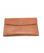 CLEDRAN(クレドラン)の古着「長財布」|ブラウン
