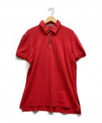 ARMANI EXCHANGE(アルマーニエクスチェンジ)の古着「ポロシャツ」 レッド