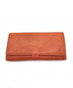 CLEDRAN(クレドラン)の古着「長財布」|レッド