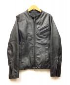 FUGA(フーガ)の古着「レザージャケット」|ブラック