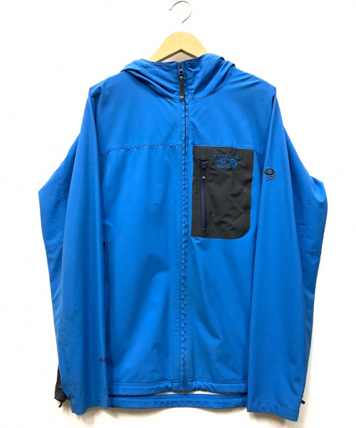 MOUNTAIN HARD WEAR(マウンテンハードウェア)MOUNTAIN HARD WEAR (マウンテンハードウェア) ナイロンパーカー ブルー サイズ:Lの古着・服飾アイテム