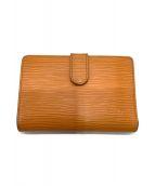 ()の古着「2つ折り財布」 オレンジ