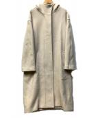 FRAMeWORK(フレームワーク)の古着「フーデッドコート」|アイボリー