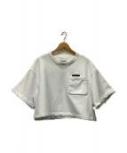 FACETASM(ファセッタズム)の古着「クルーネックスウェット」|ホワイト