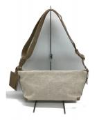 KITAMURA(キタムラ)の古着「キャンバスショルダーバッグ」|グレー