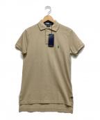 RALPH LAUREN()の古着「ポロシャツ」 カーキ