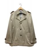 BURBERRY BLACK LABEL(バーバリーブラックレーベル)の古着「コート」|ベージュ