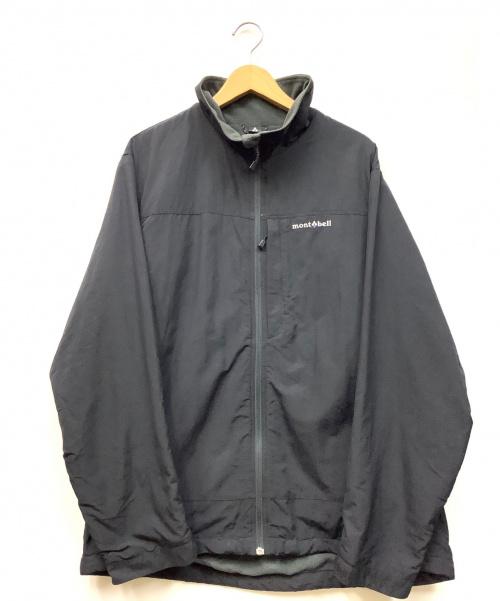 mont-bell(モンベル)mont-bell (モンベル) ジャケット ブラック サイズ:XL 無地 秋冬物 内フリースの古着・服飾アイテム